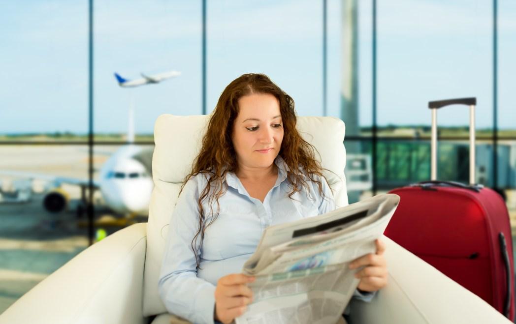 Reiseknigge Großbritannien: Zeitung lesen