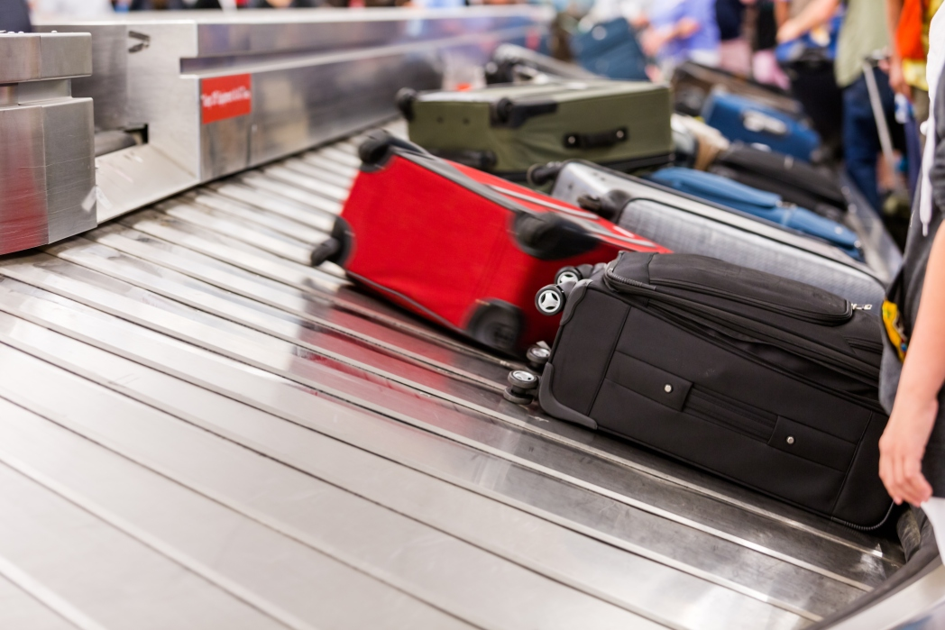 Koffer Gepäckband