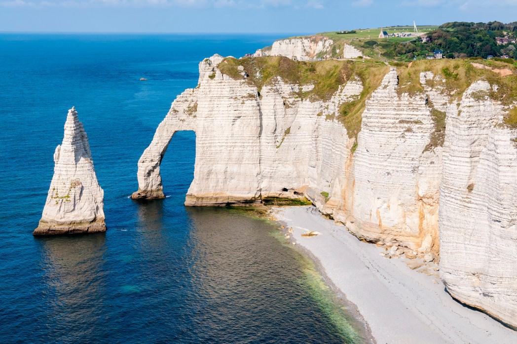 Die 20 spektakulärsten Wunder der Natur: Alabasterküste in Frankreich