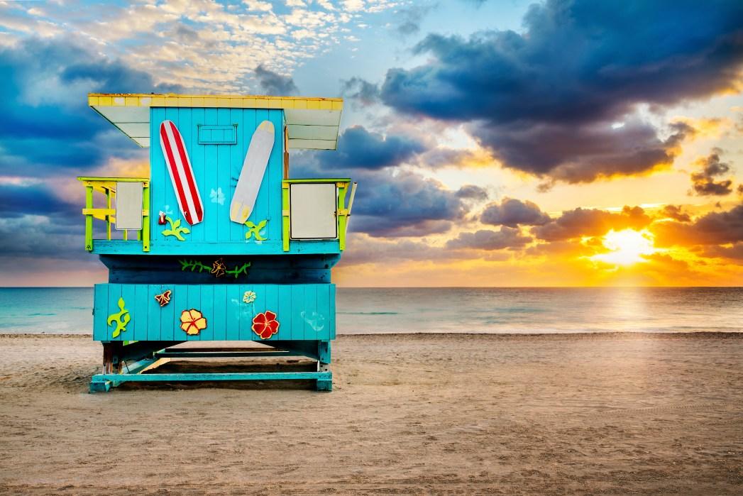 Die schönsten Strände der USA: South Beach – Miami Beach, Florida