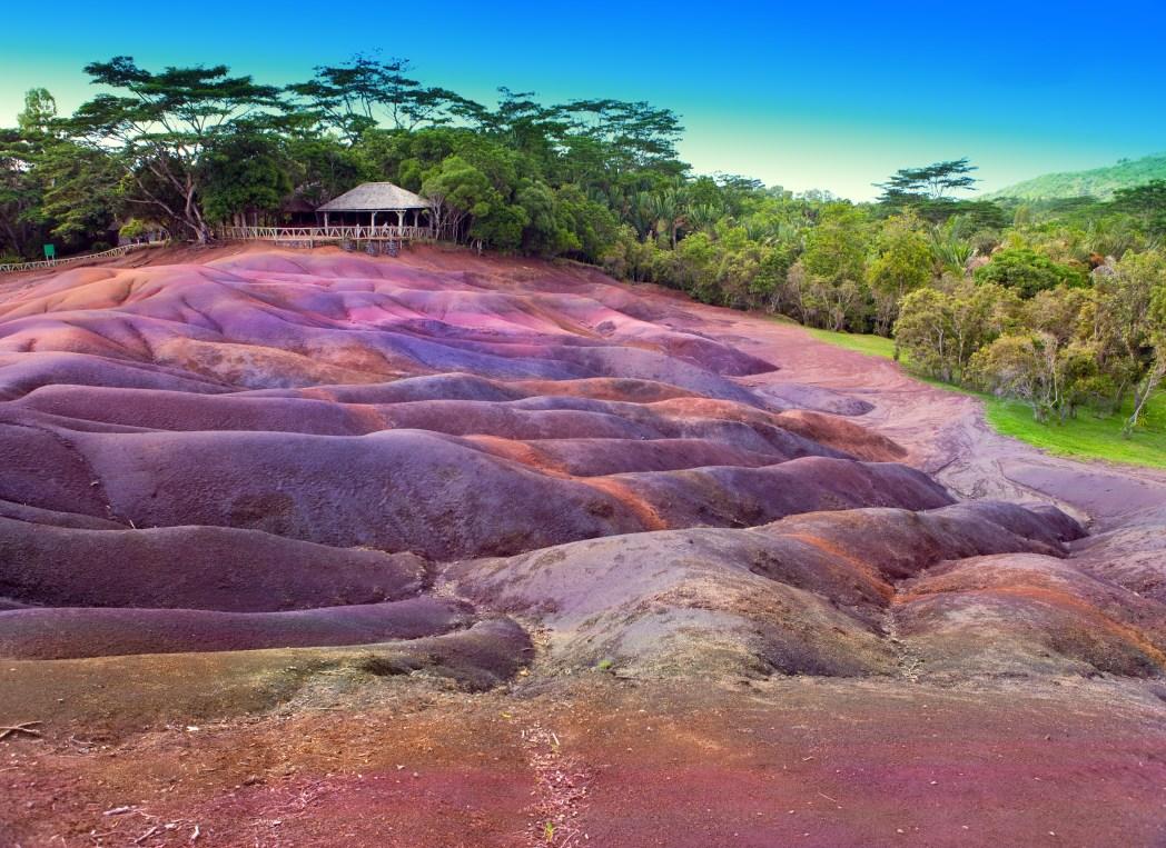 Die 20 spektakulärsten Wunder der Natur: Siebenfarbige Erde, Chamarel