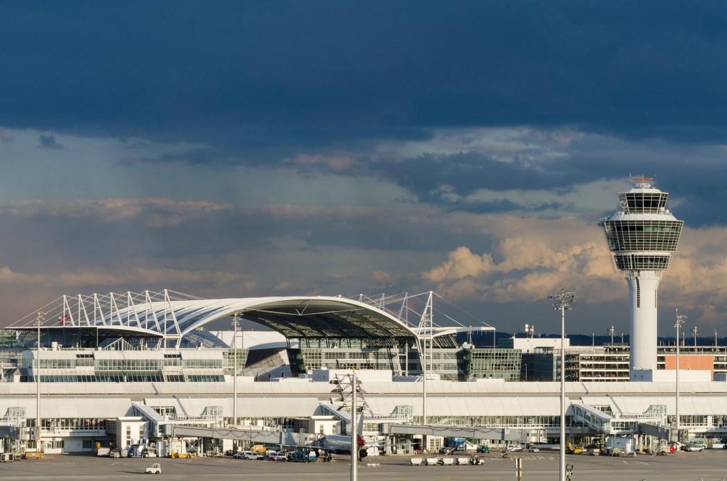 Die größten Flughäfen Deutschlands: Flughafen München