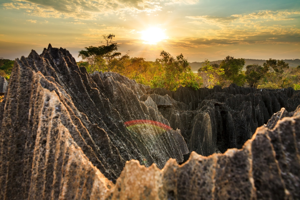 Die 20 spektakulärsten Wunder der Natur: Nationalpark Tsingy de Bemaraha, Madagskar