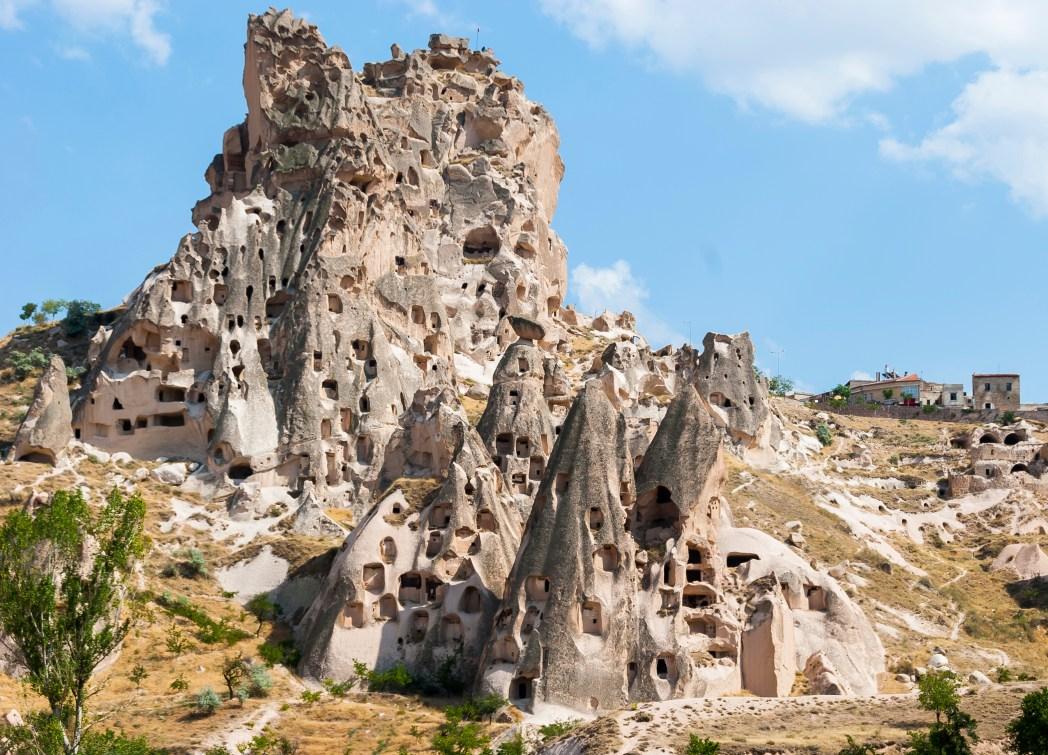 Türkei, Kappadokien: Höhlenlandschaft aus Lavagestein
