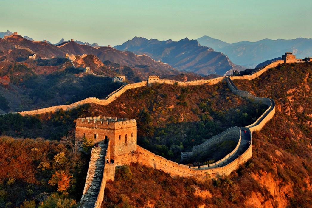 Die schönsten Sehenswürdigkeiten in China: Chinesische Mauer