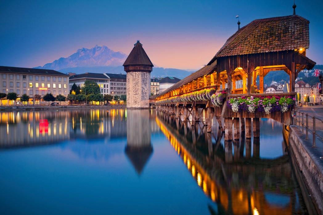 Perfekte Ziele für die Osterferien: Luzern, Schweiz