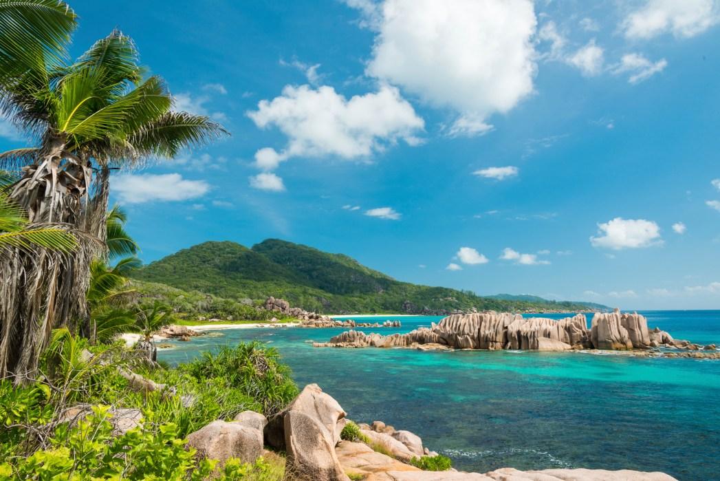 Seychellen Traumstrand warme Destinationen im Oktober