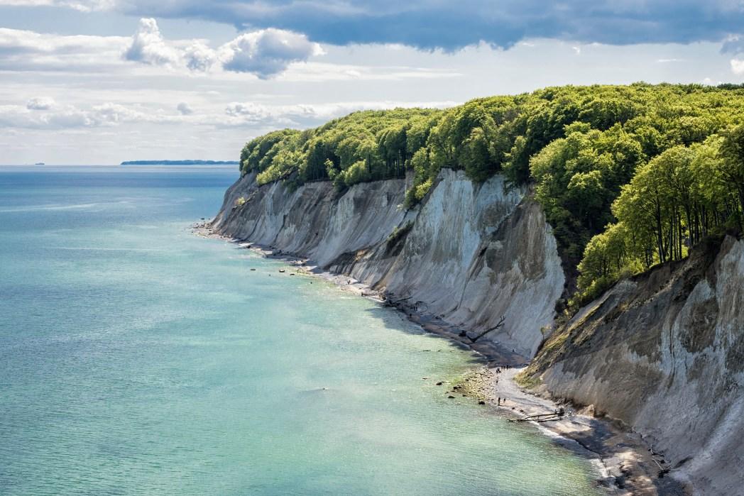 Schöne Orte in Deutschland: Königsstuhl & Kreideküste, Rügen, Mecklenburg-Vorpommern