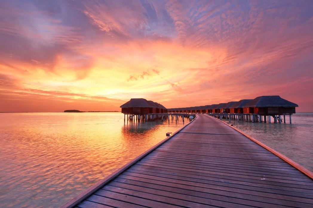 Reisen, die man im Leben gemacht haben muss: Traum-Flitterwochen auf den Malediven