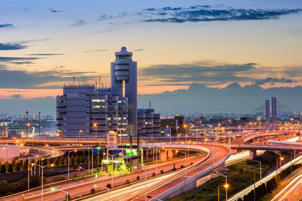 Große Flughäfen: Tokyo International Airport (Haneda Airport, Tokio, Japan)