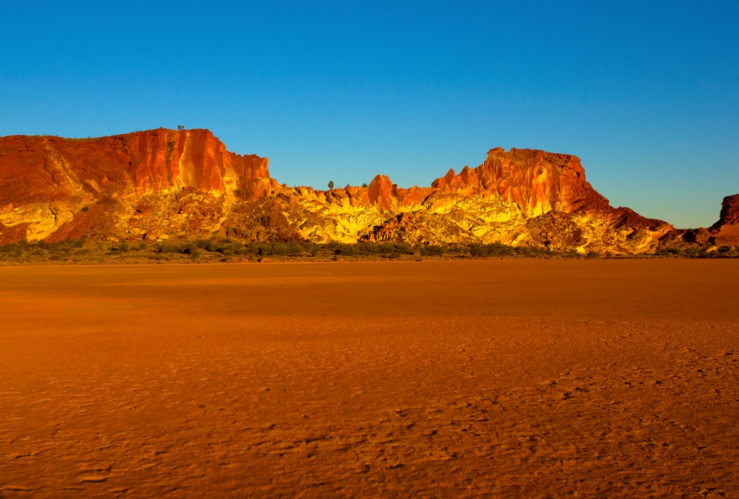 Australien Reise: Rainbow Valley