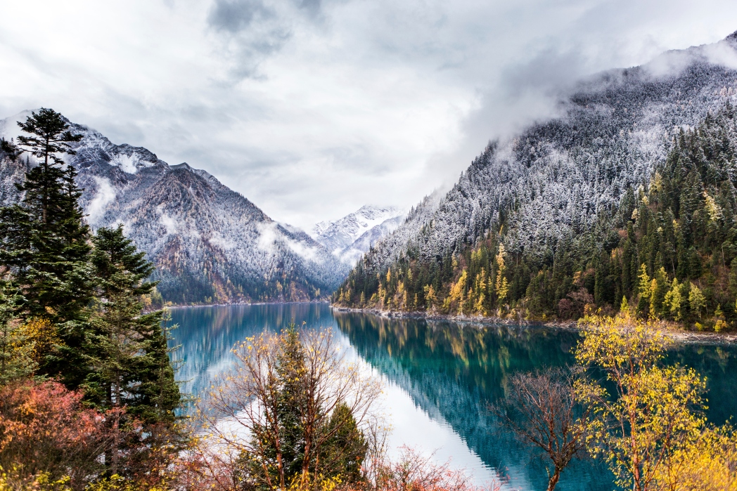 Die schönsten Nationalparks: Jiuzhaigou Nationalpark, China
