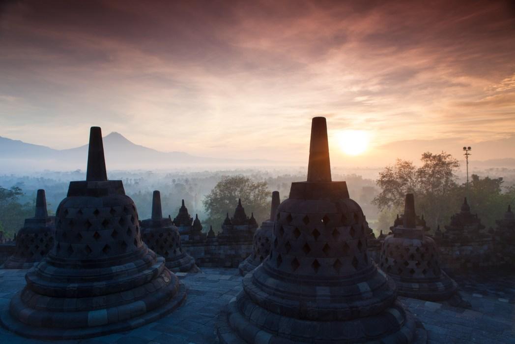 Tempel Bali warme Temperaturen im Oktober