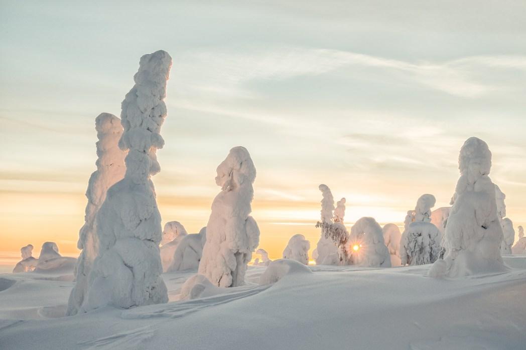 Finnland, Winterlandschaft, Helsinki
