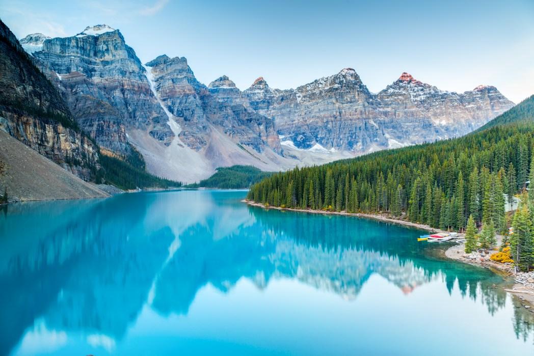 Die 20 spektakulärsten Wunder der Natur: Moraine Lake im Banff National Park
