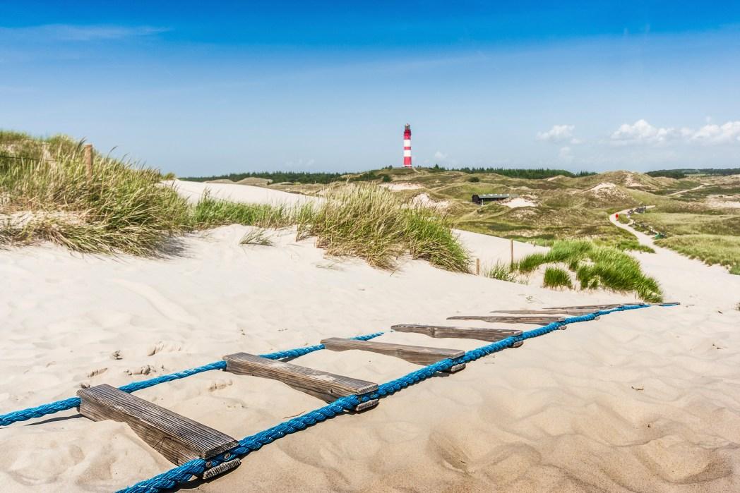 Schöne Orte in Deutschland: Kniepsand, Amrum, Schleswig-Holstein