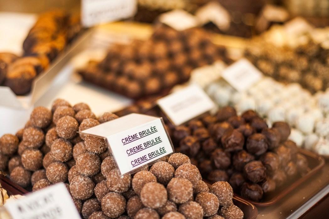 Schokolade Reise