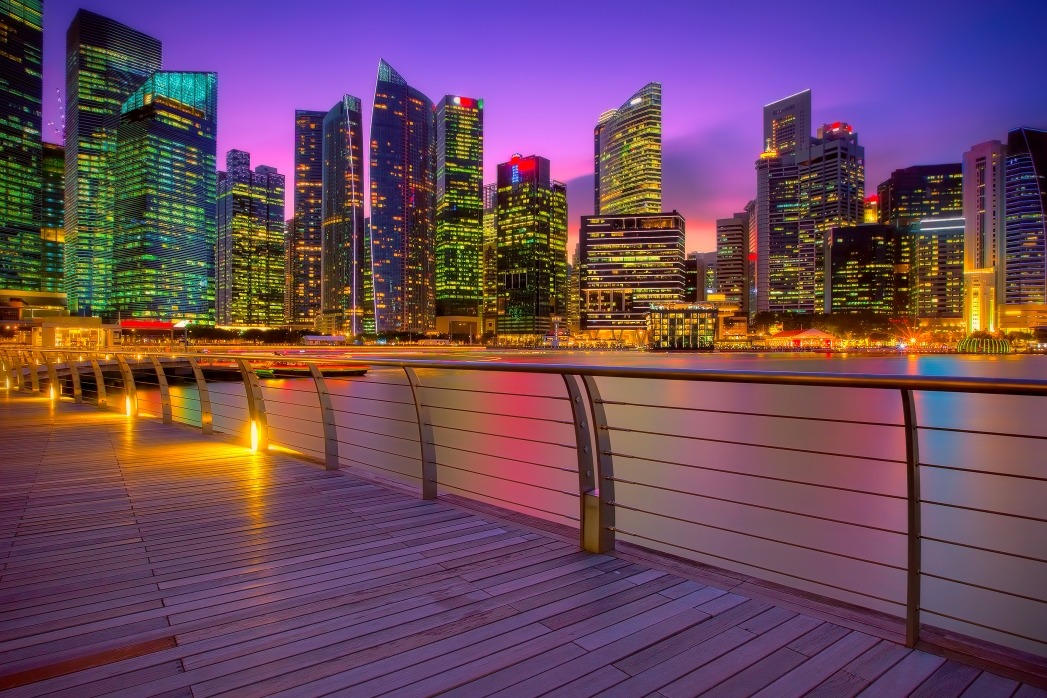 Singapur, Skyline