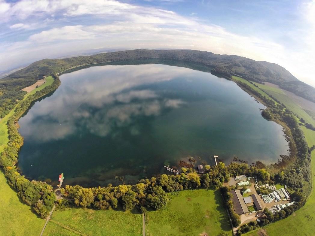 Schönste Orte in Deutschland: Laacher See, Vulkaneifel, Rheinland-Pfalz