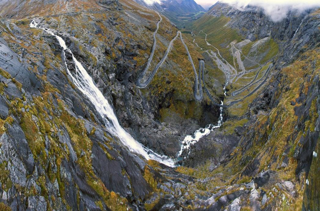 Die berühmtesten Straßen weltweit: Trollstigen, Norwegen