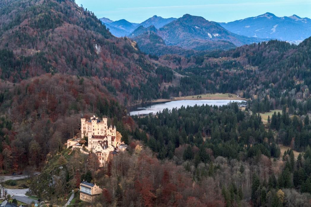 Die schönsten Schlösser und Burgen in Deutschland: Schloss Hohenschwangau, Bayern