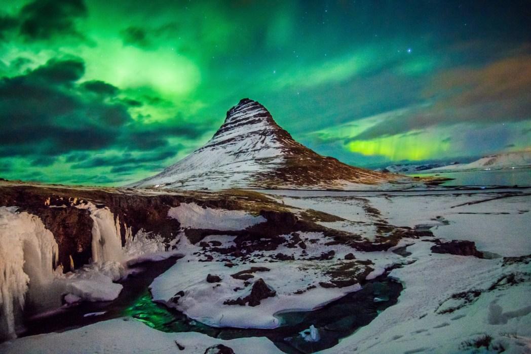 Island Nordlichter Aurora Borealis