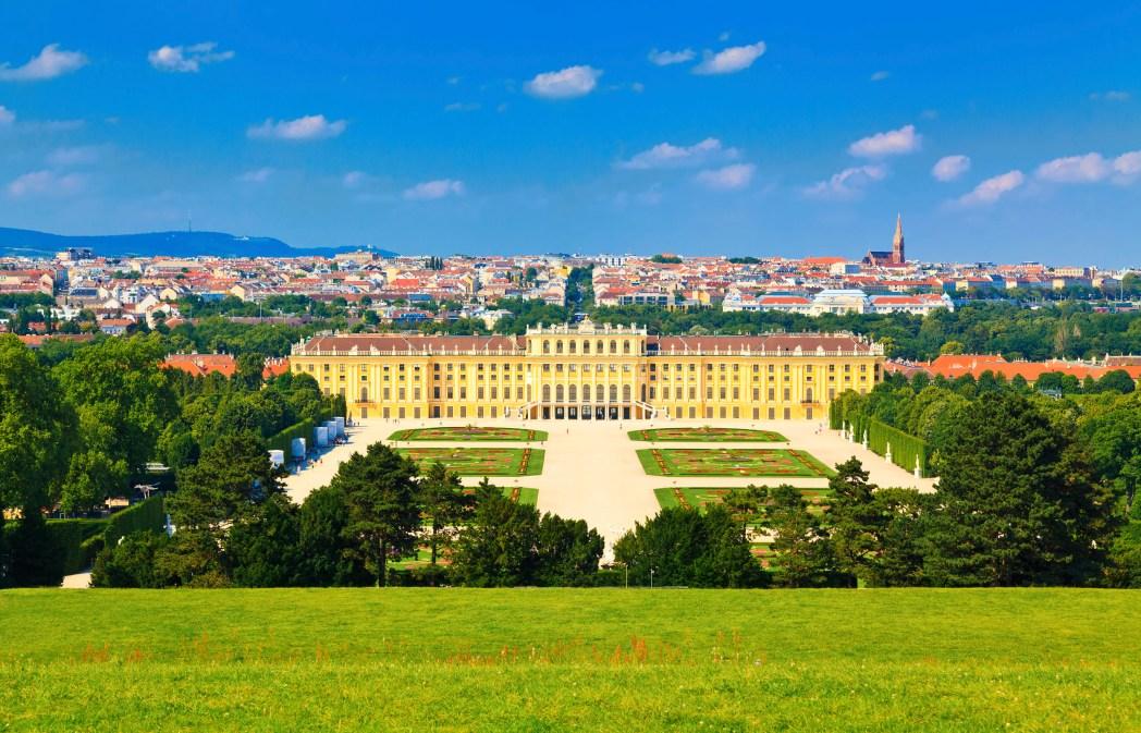Die Top UNESCO Welterbestätten: Schloss und Gärten von Schönbrunn im österreichischen Wien