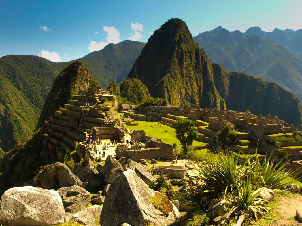 Die Top UNESCO Welterbestätten: Machu Picchu in Peru