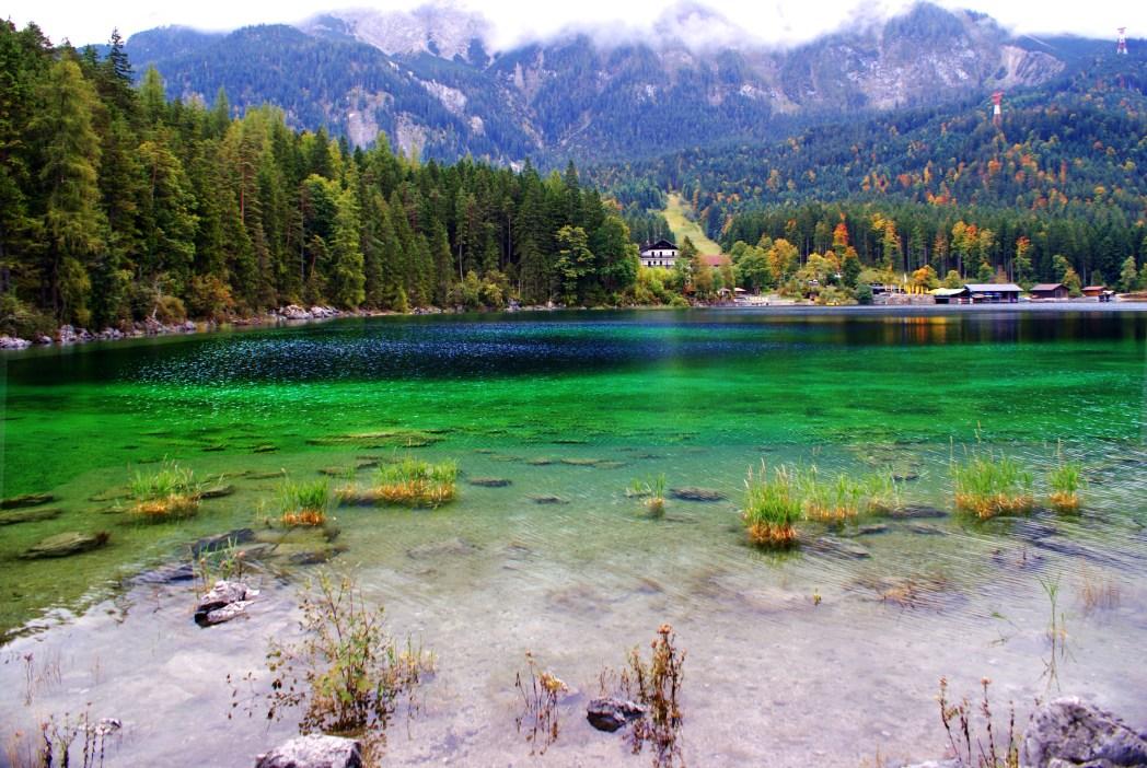 Eibsee, Bayern, Deutschland