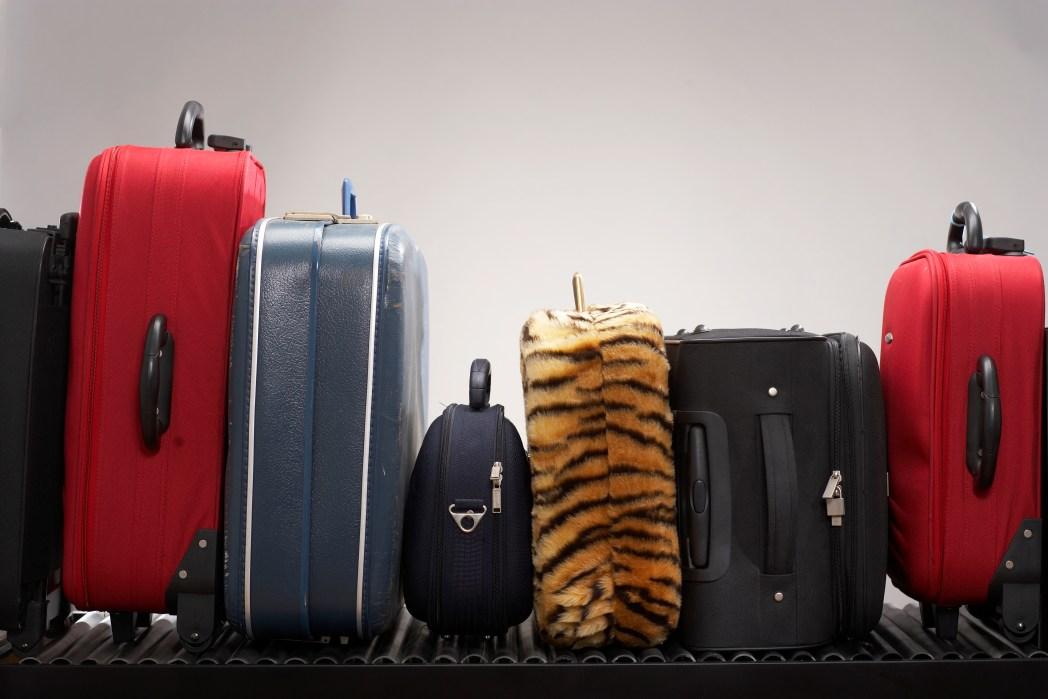 Auffälliger Koffer