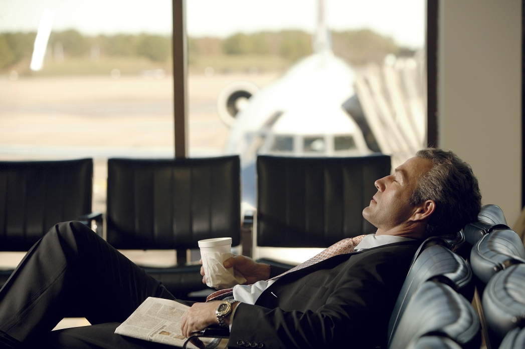 Schlafen am Flughafen: Airport Lounge