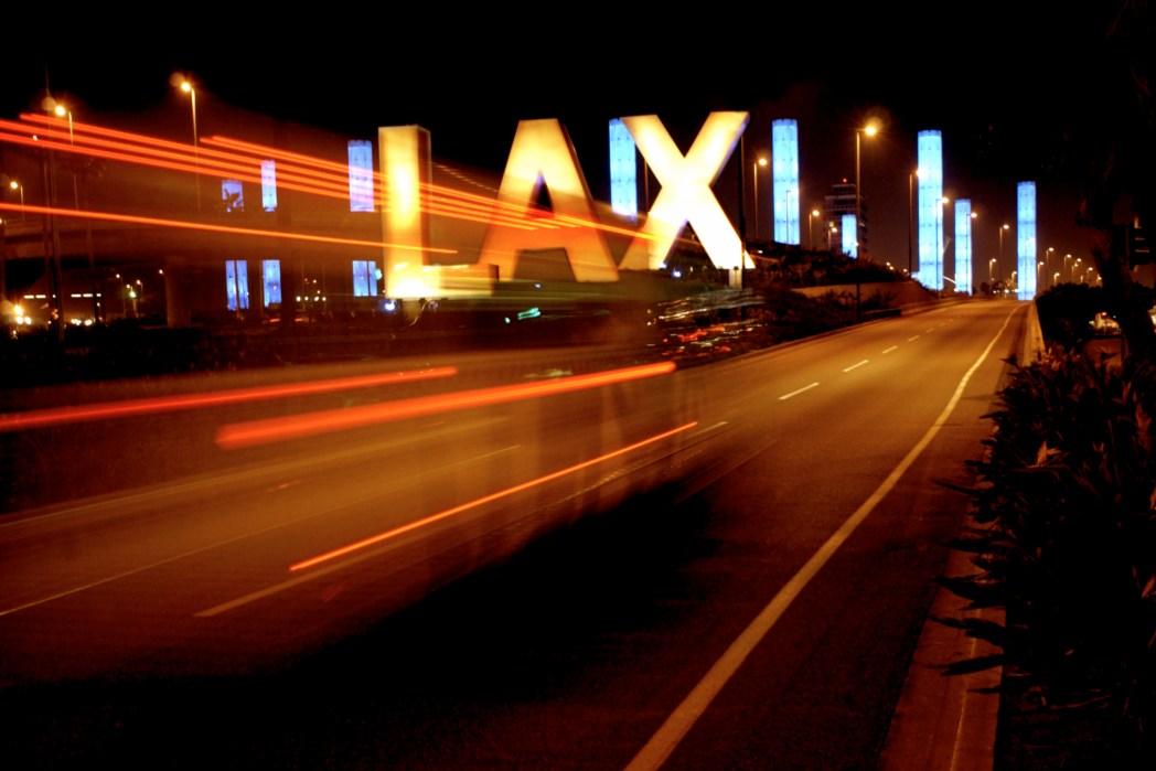 Die größten Flughäfen weltweit: LAX (Los Angeles International Airport), Los Angeles, USA