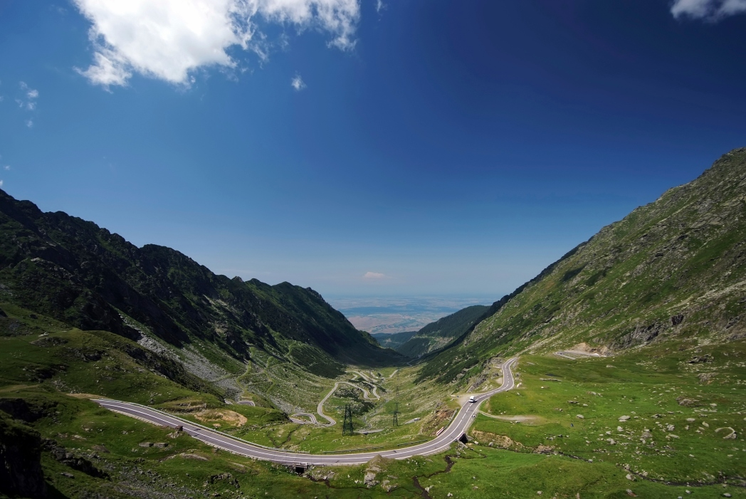 Dramatische Road Trips: Transfăgărășan Rumänian