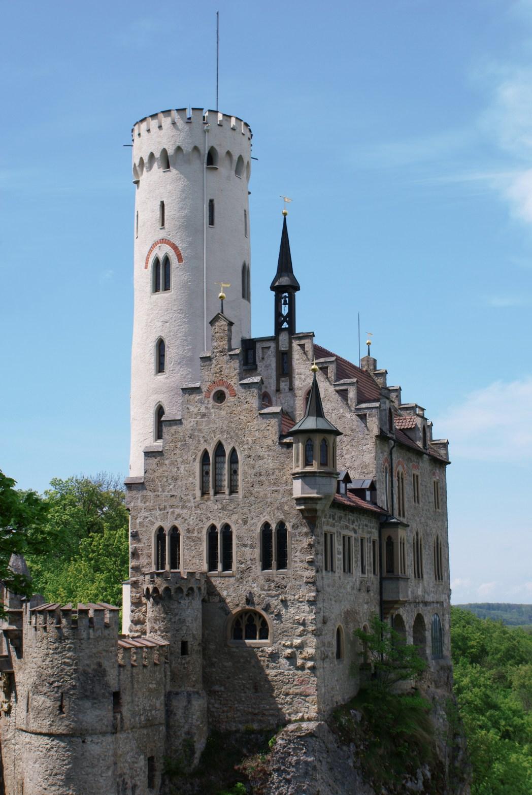 Schöne Schlösser in Deutschland: Schloss Lichtenstein, Baden-Württemberg