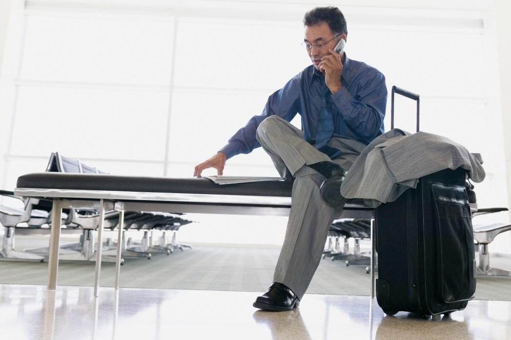 Flugausfalls bei Geschäftsreisen