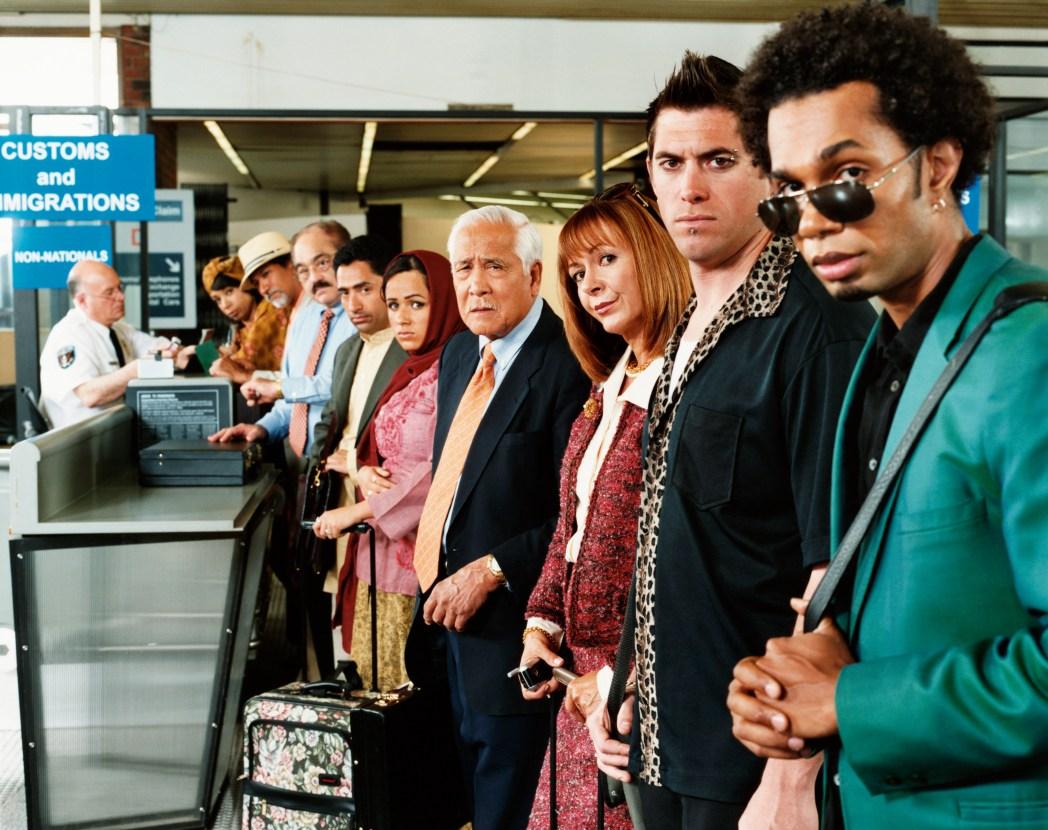 Dinge, die man niemals am Flughafen machen sollte: Vordrängen am Flughafen