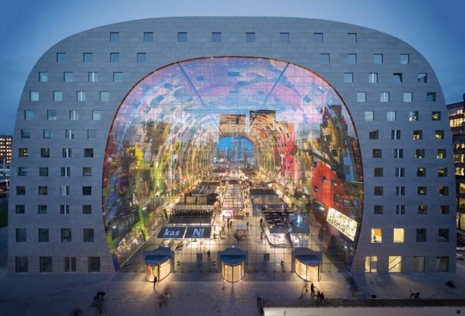 Ein architektonisches Highlight: Markthal