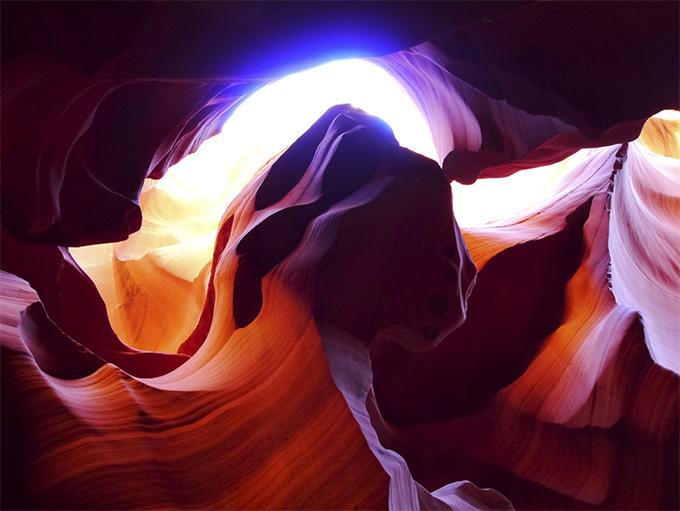 9 außergewöhnlich schöne Orte: Antelope Canyon