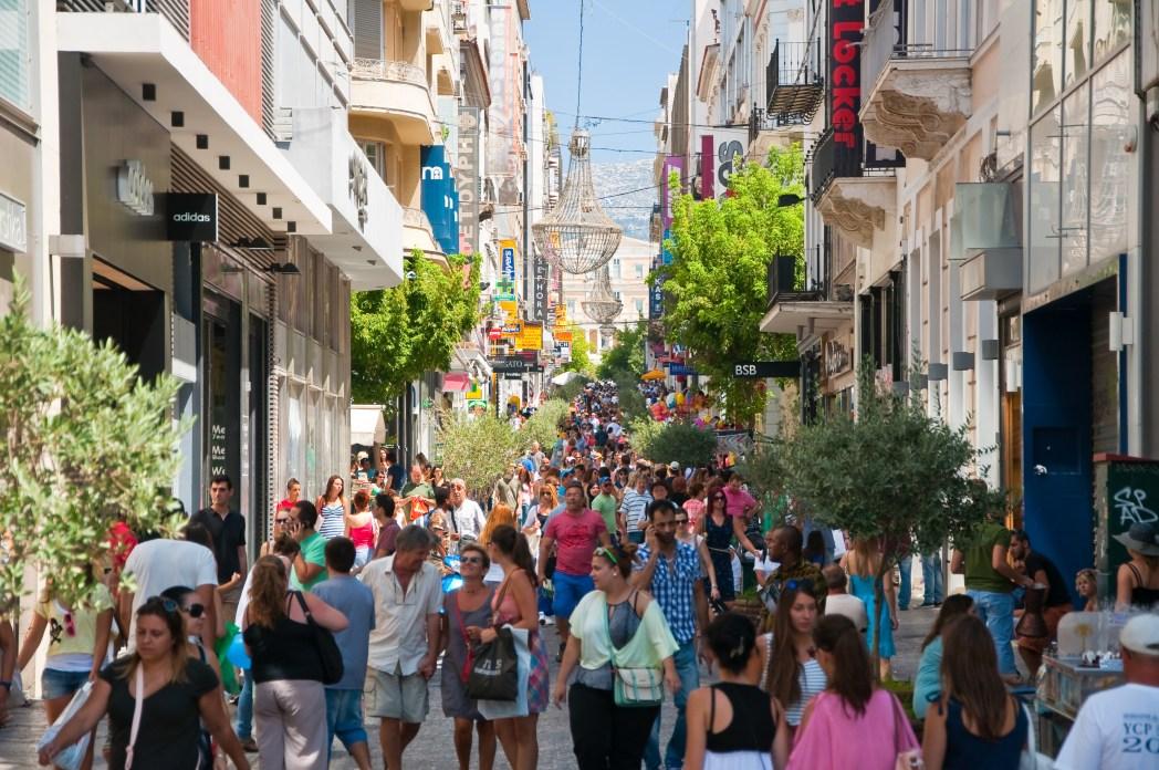 Fashion in Athen, Griechenland
