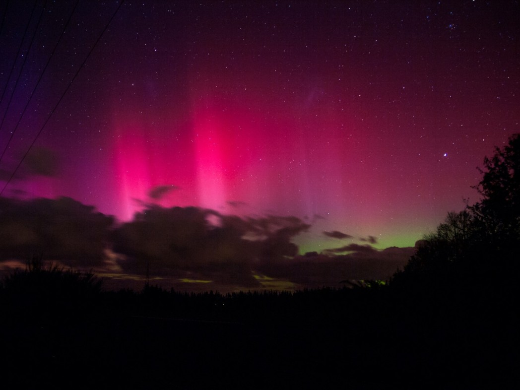 aurora australis neuseeland