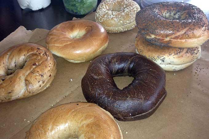 Essen in New York: Bagels
