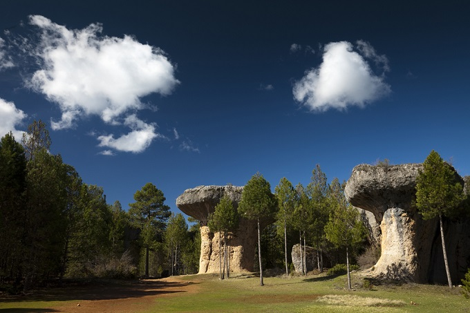 Außergewöhnlich schöne Urlaubsorte: Ciudad Encantada, Cuenca, Spanien