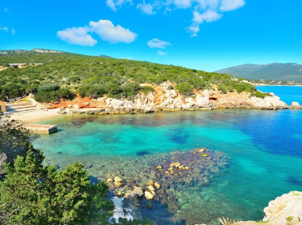 Die schönsten Strände in Italien: Cala Dragunara, Sardinien