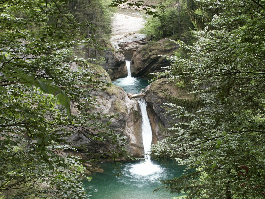 Die schönsten Wasserfälle in Deutschland: Buchenegger Wasserfälle