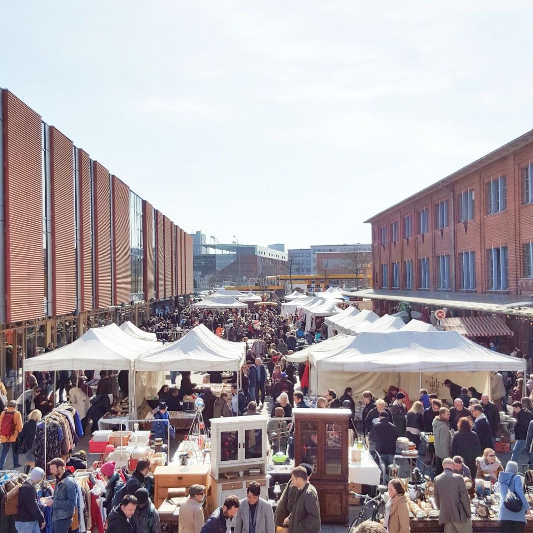 Flohschanze Flohmarkt Schanze Hamburg