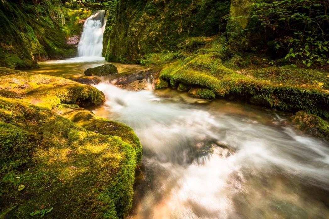 Die schönsten Wasserfälle in Deutschland: Edelfrauengrab-Wasserfälle