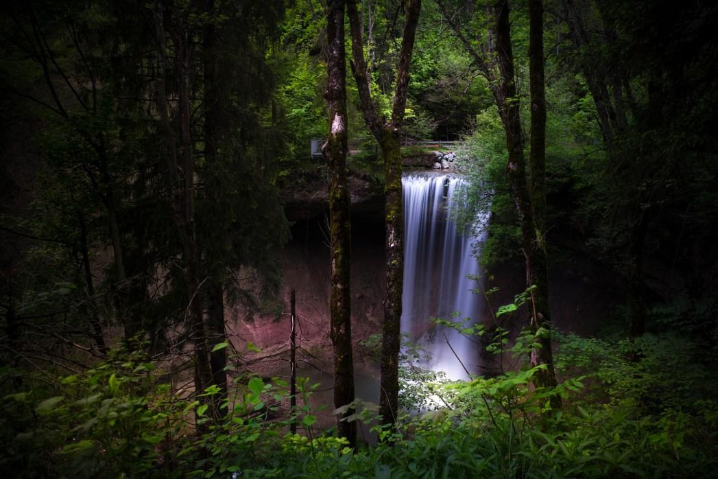 Die schönsten Wasserfälle in Deutschland: Scheidegger Wasserfälle