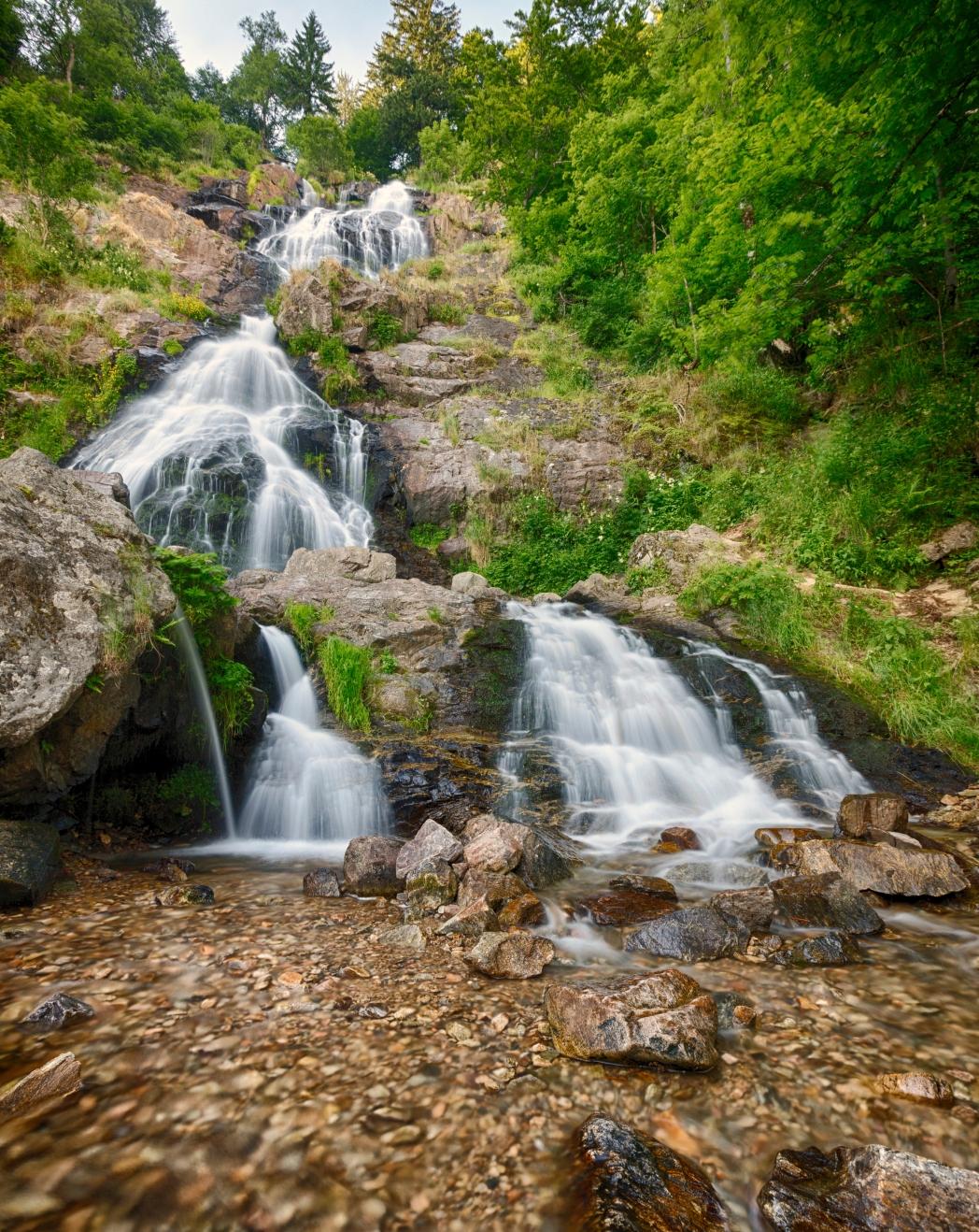 Die schönsten Wasserfälle in Deutschland: Todtnauer Wasserfälle