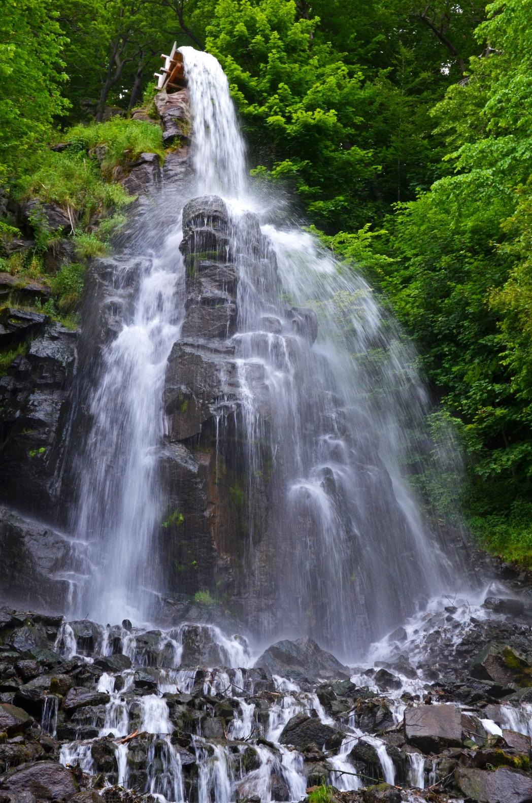 Die schönsten Wasserfälle in Deutschland: Trusetaler Wasserfall