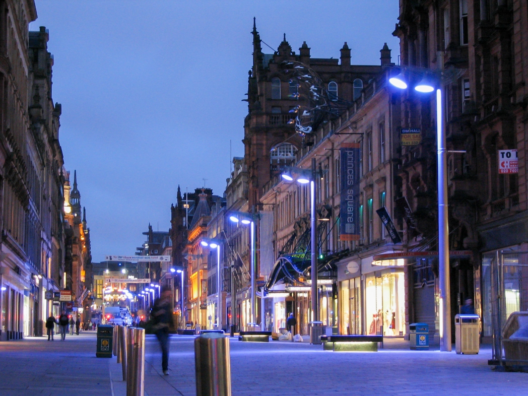 Shopping und Fashion Glasgow